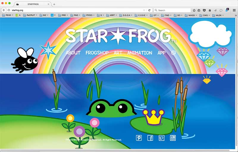 STAR*FROG® is a lifestyle brand of positive, playful and beautiful images